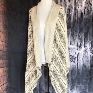Long Lucky Brand cardigan new size xs